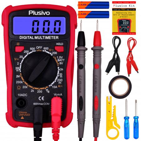 Plusivo Digital Multimeter Kit