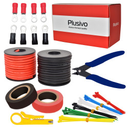 Plusivo 12AWG Hook up Wire...