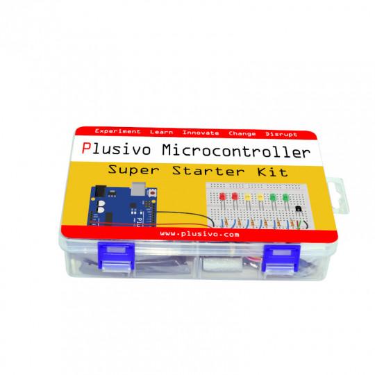 Plusivo Microcontroller Super Starter Kit (196 pcs)