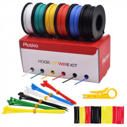 Plusivo 22AWG Hook up Wire...