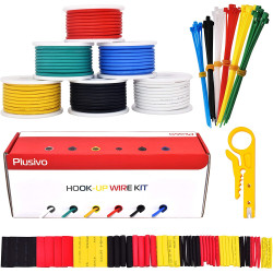 Plusivo 18AWG Hook up Wire...