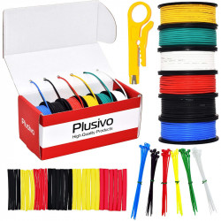 Plusivo 24AWG Hook up Wire...